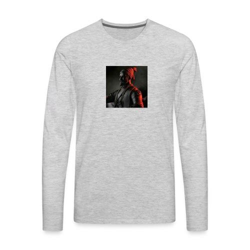 Shivaji Maharaj - 1 - Men's Premium Long Sleeve T-Shirt