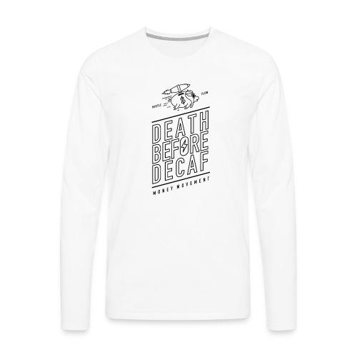 coffee cup - Men's Premium Long Sleeve T-Shirt
