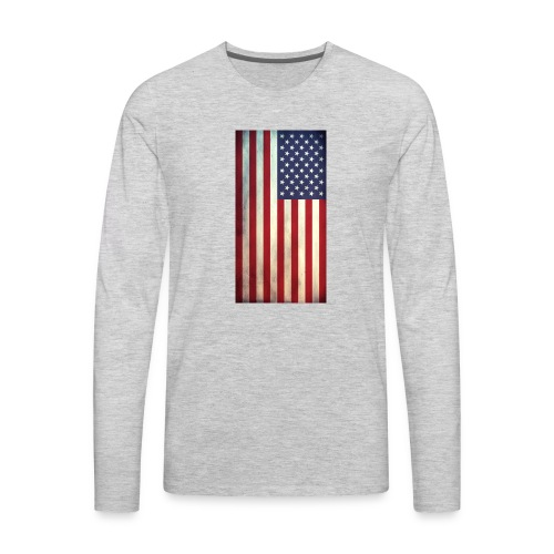 the american flag wear and Accessories - Men's Premium Long Sleeve T-Shirt