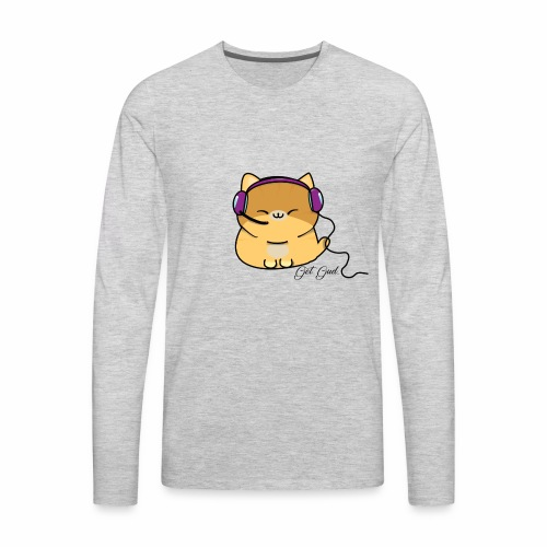 Getgud Gamer Kitty Mug - Men's Premium Long Sleeve T-Shirt