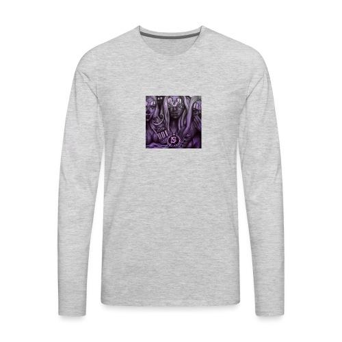 see no hear no - Men's Premium Long Sleeve T-Shirt