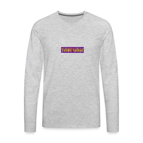 Young Savage merch - Men's Premium Long Sleeve T-Shirt