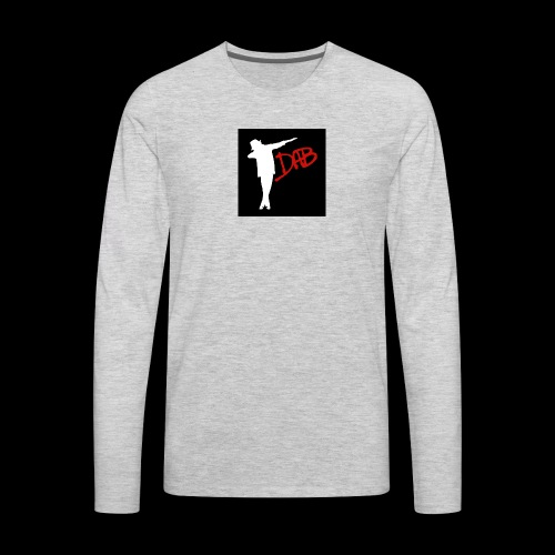 T-shirt Dab - Men's Premium Long Sleeve T-Shirt