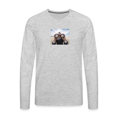 binoculars professional - Men's Premium Long Sleeve T-Shirt