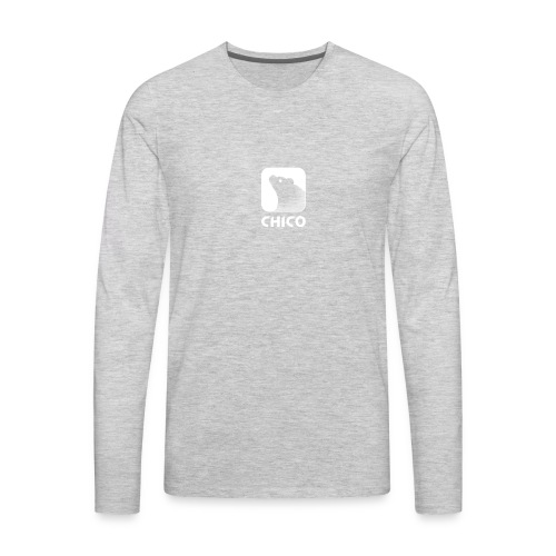Chico's Logo with Name - Men's Premium Long Sleeve T-Shirt