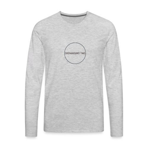 LOGO ONE - Men's Premium Long Sleeve T-Shirt