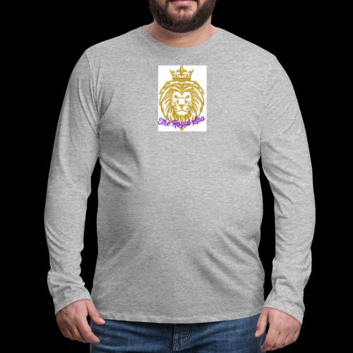 Royal Spa Treatment - Men's Premium Long Sleeve T-Shirt