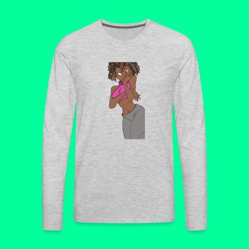 Wakandan Pink - Men's Premium Long Sleeve T-Shirt