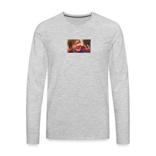 mmmmm - Men's Premium Long Sleeve T-Shirt