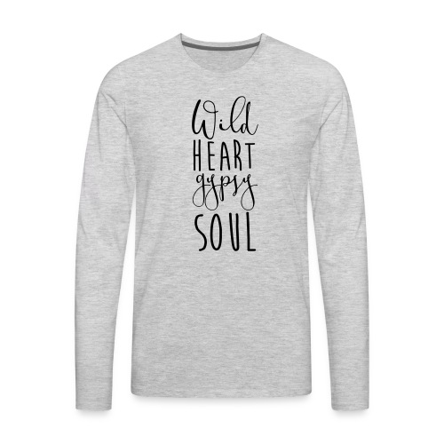 Cosmos 'Wild Heart Gypsy Sould' - Men's Premium Long Sleeve T-Shirt