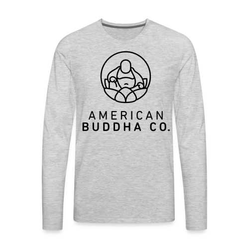 AMERICAN BUDDHA CO. ORIGINAL - Men's Premium Long Sleeve T-Shirt