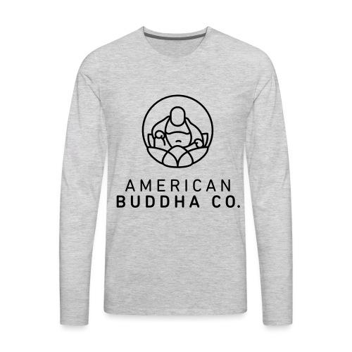 AMERICAN BUDDHA CO. ORIGINAL - Men's Premium Long Sleeve T-Shirt