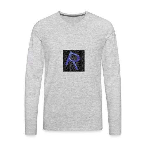 youtubelogo - Men's Premium Long Sleeve T-Shirt