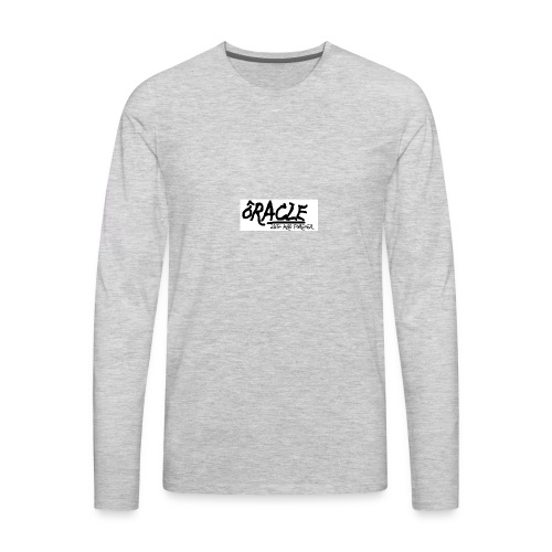 Basic Oracle Tee - Men's Premium Long Sleeve T-Shirt