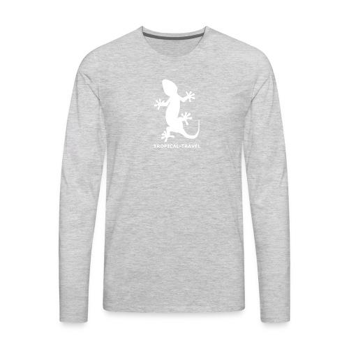 tropical travel - Men's Premium Long Sleeve T-Shirt