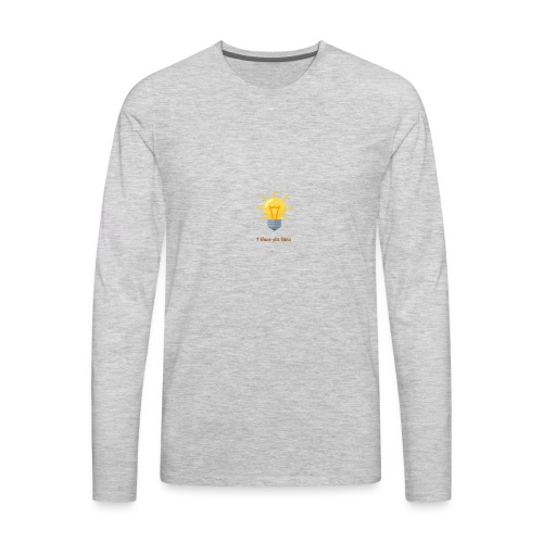 Idea Bulb - Men's Premium Long Sleeve T-Shirt