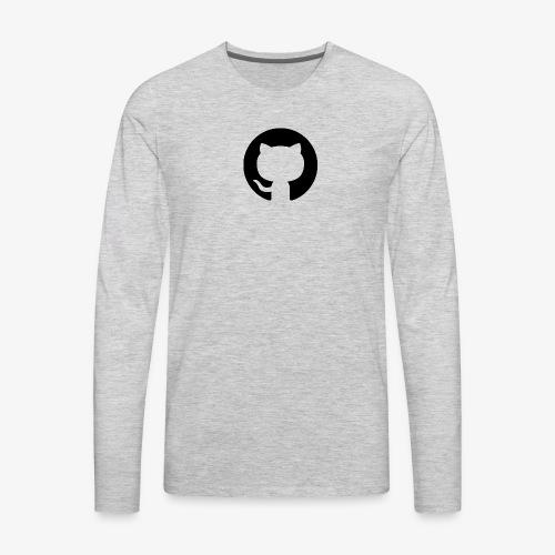 cat logo - Men's Premium Long Sleeve T-Shirt