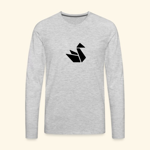 Swan Merch - Men's Premium Long Sleeve T-Shirt