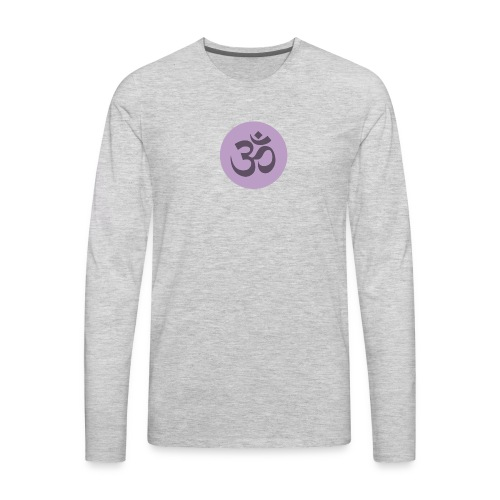 om - Men's Premium Long Sleeve T-Shirt