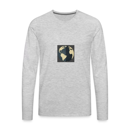 The world as one - Men's Premium Long Sleeve T-Shirt
