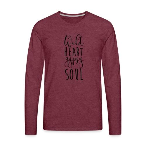 Cosmos 'Wild Heart Gypsy Sould' - Men's Premium Long Sleeve T-Shirt