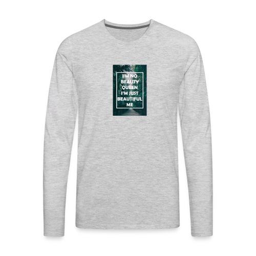 Pretty lil me - Men's Premium Long Sleeve T-Shirt