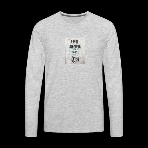 Sick of losing soulmates - Men's Premium Long Sleeve T-Shirt