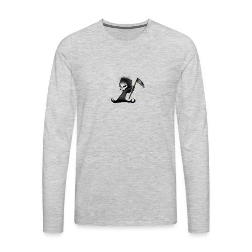 the grim - Men's Premium Long Sleeve T-Shirt