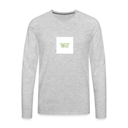 MAKE AUSTRALIA GREEN AGAIN TREES - Men's Premium Long Sleeve T-Shirt