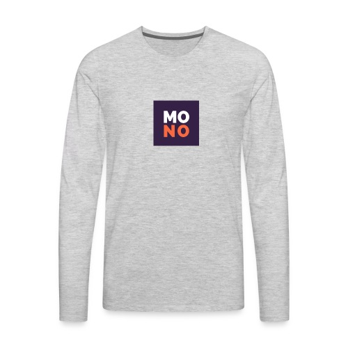 no - Men's Premium Long Sleeve T-Shirt