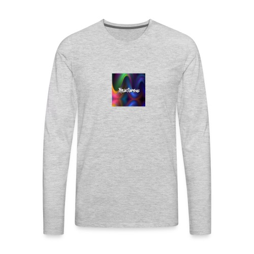 youtube profile picture - Men's Premium Long Sleeve T-Shirt