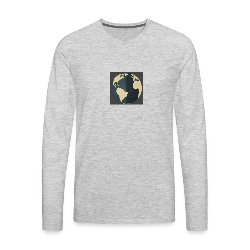 The world as one - Men's Premium Long Sleeve T-Shirt