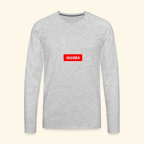 Supreme Mamba - Men's Premium Long Sleeve T-Shirt