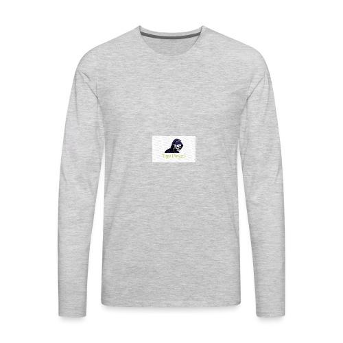 Tigu Playz:) - Men's Premium Long Sleeve T-Shirt