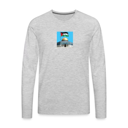 received 41150474595513 - Men's Premium Long Sleeve T-Shirt