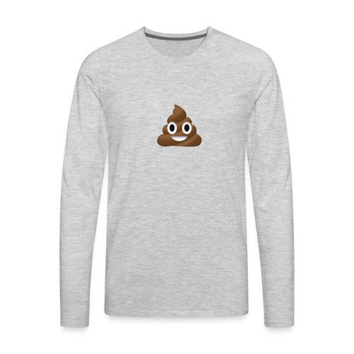 Poop clothing/mugs/phone cases. - Men's Premium Long Sleeve T-Shirt
