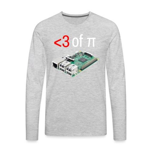 Life of Raspberry Pi - Men's Premium Long Sleeve T-Shirt