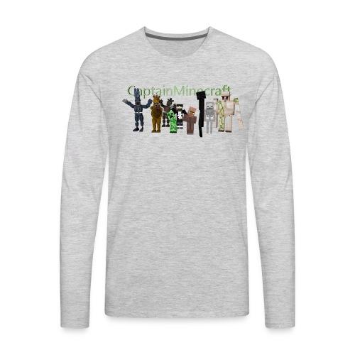 CaptainMinecraft - Men's Premium Long Sleeve T-Shirt