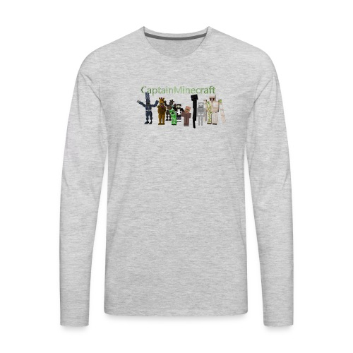 CaptainMinecraft - Men's Premium Long Sleeve T-Shirt