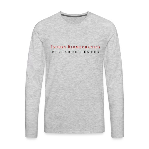 IBRC Classic with Buckle Up Brutus Back - Men's Premium Long Sleeve T-Shirt