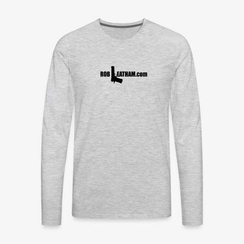 Official Rob Leatham Logo - Men's Premium Long Sleeve T-Shirt