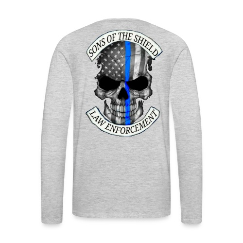 SONS OF THE SHIELD (corrected) - Men's Premium Long Sleeve T-Shirt