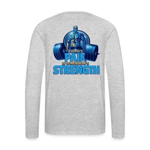 Heavy Lifting Man - Men's Premium Long Sleeve T-Shirt
