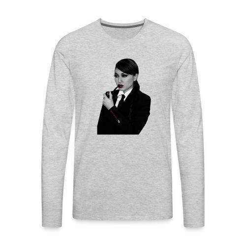 Natasha Yi's Smoking Pipe Cutout - Men's Premium Long Sleeve T-Shirt