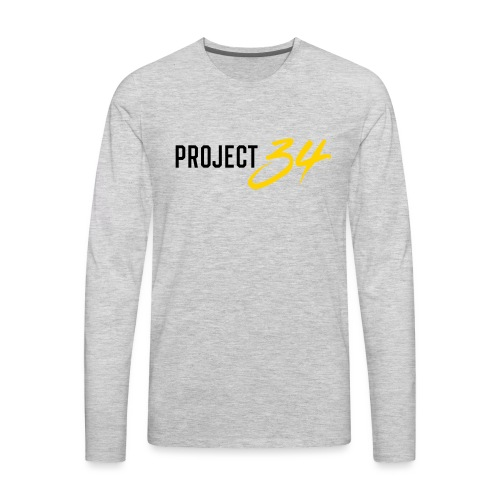 Project 34 - Pittsburgh - Men's Premium Long Sleeve T-Shirt