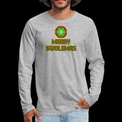 MERRY SWOLEMAS - Men's Premium Long Sleeve T-Shirt