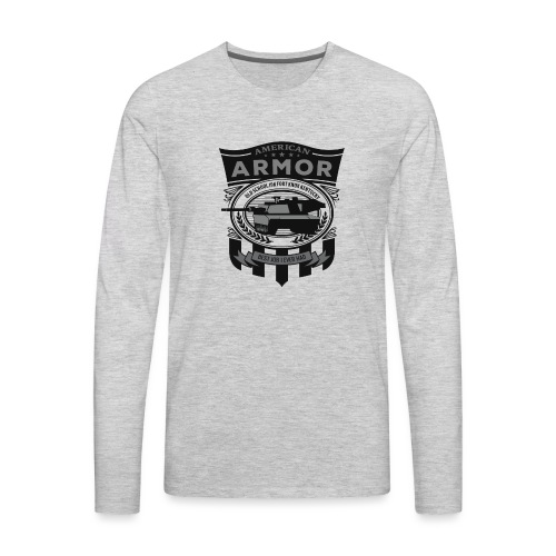 American Armor: Old School - Men's Premium Long Sleeve T-Shirt