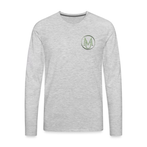 Alloy Double Badge - Men's Premium Long Sleeve T-Shirt