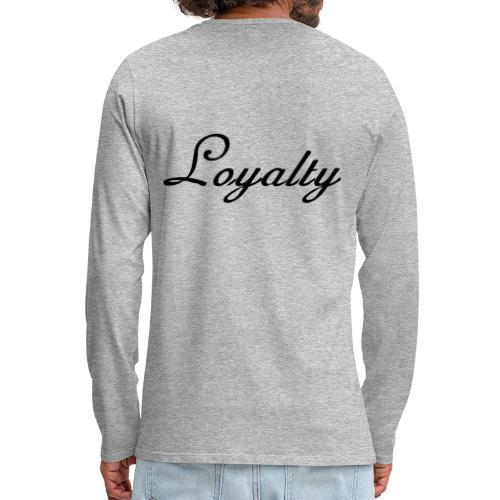 Loyalty Brand Items - Black Color - Men's Premium Long Sleeve T-Shirt