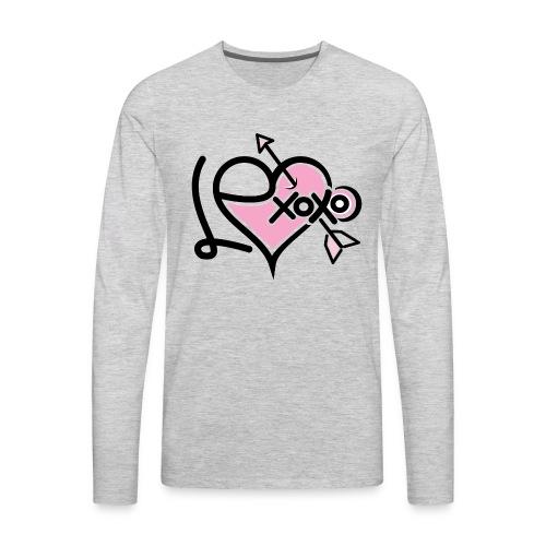 LEXoxo (Front & Left Sleeve T-Shirt) Kids - Men's Premium Long Sleeve T-Shirt